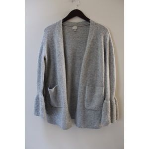 • A NEW DAY GREY BELL SLEEVE CARDIGAN •